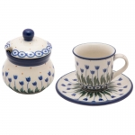Espresso 60 ml CUP with saucer Sugar bowl 100 ml SET