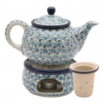 Teapot 900 ml with tea infuser and warmer