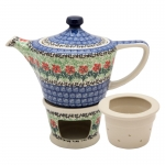 Teapot 500 ml with tea infuser and warmer