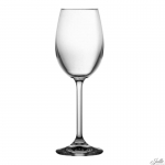 Crystal wine glasses 215 ml SET of 6