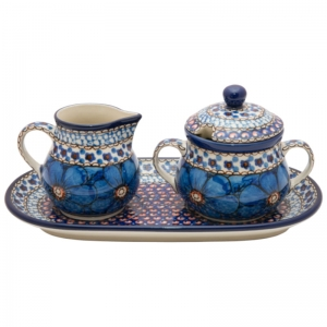 Sugar bowl and milk jug SET