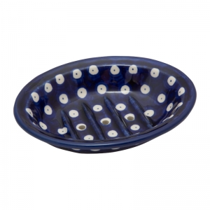 Soap dish 14 cm with drainage holes